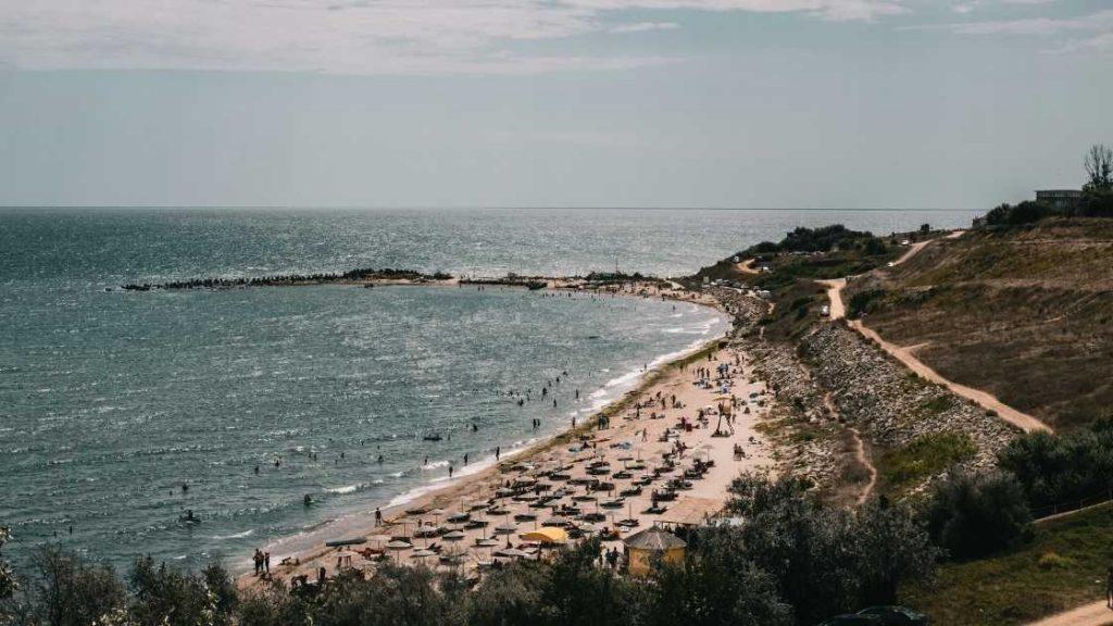 Plaja Eforie Sud top plaje Romania plaje salbatice romania cele mai frumpase plaje romania